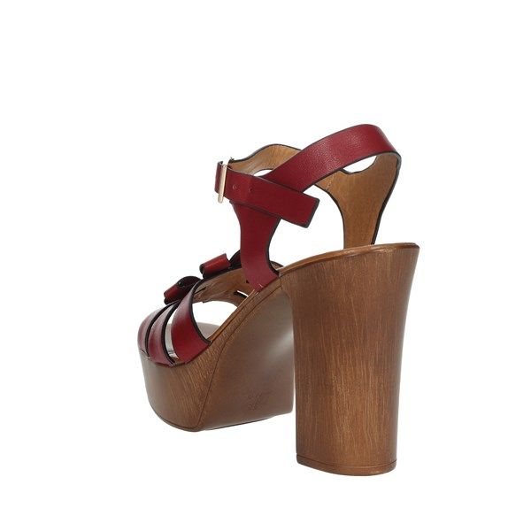 Repo Shoes Sandal Red 57409-E9