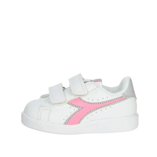 Diadora Shoes Sneakers White/Pink 101.173339 01 50145