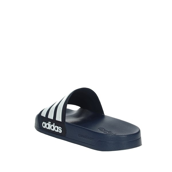 Adidas Shoes slippers Blue/White AQ1703