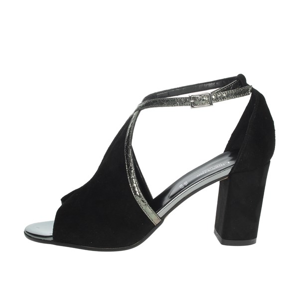 Linea Uno Shoes Sandal Black F165SP