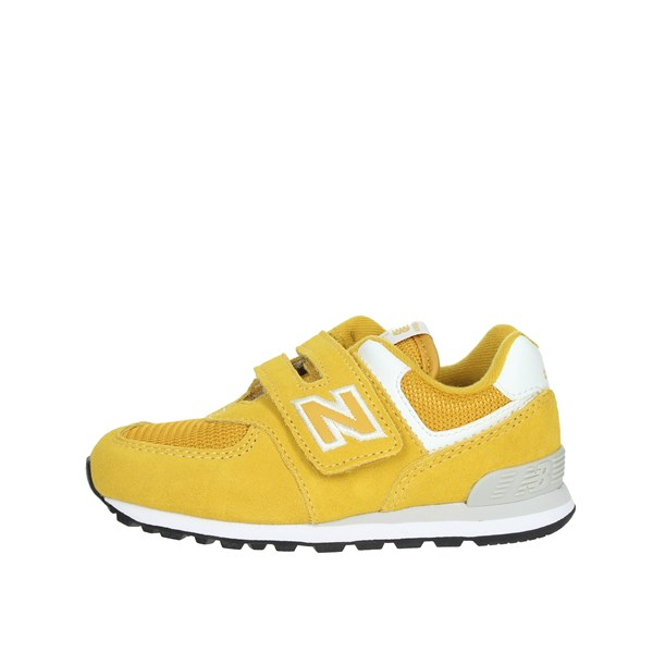 New Balance Shoes Sneakers Yellow IV574EF