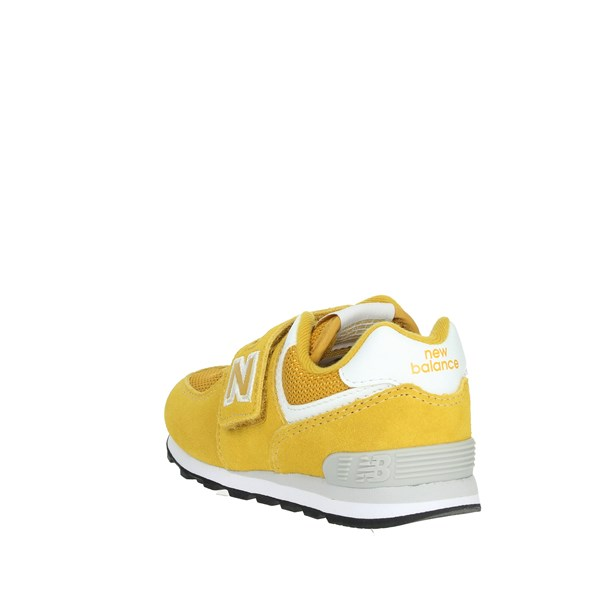 <New Balance Shoes Sneakers Yellow IV574EF
