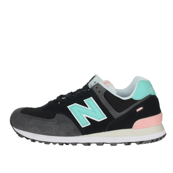 New Balance Shoes Sneakers Black/Grey ML574UJC