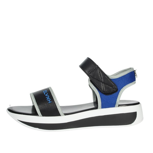 Silvian Heach Shoes Sandal Black/Blue SH805
