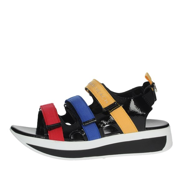 Silvian Heach Shoes Sandal Black SH804