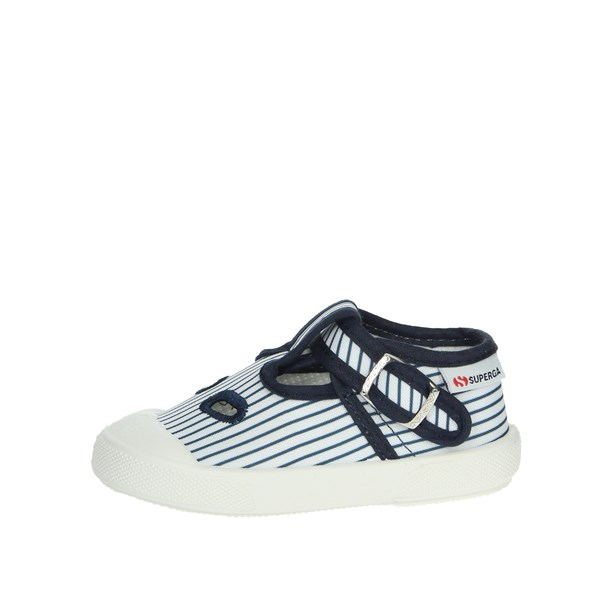 Superga Shoes Ox Eyes Blue/White S21A136