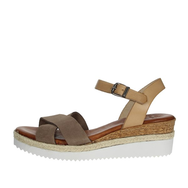 Porronet Shoes Sandals Brown Taupe FI2427