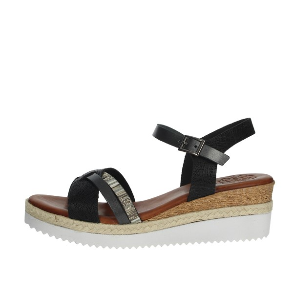 Porronet Shoes Sandals Black FI2432