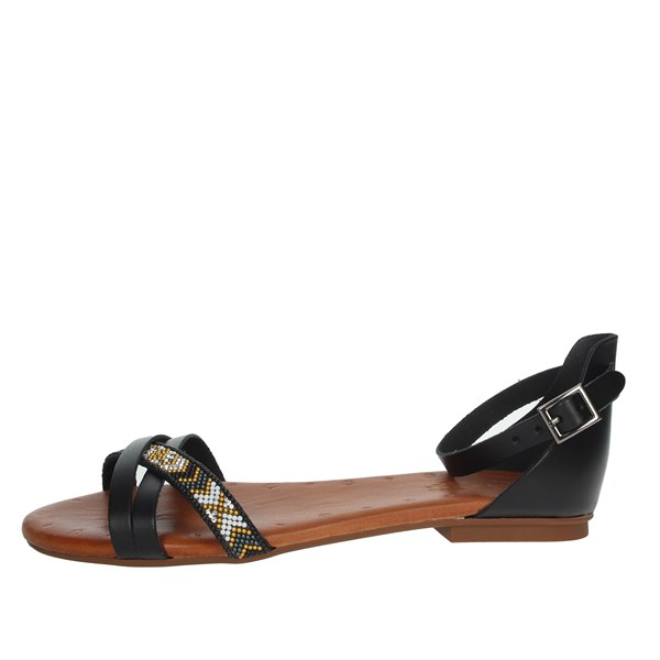Porronet Shoes Sandals Black FI2412