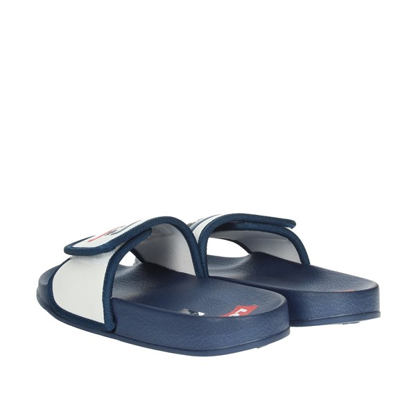 Levi's Shoes Clogs White/Blue VPOL0023S