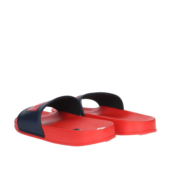 Levi's Shoes Clogs Red/blue VPOL0020S