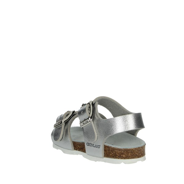 Grunland Shoes Sandals Silver SB0392-40