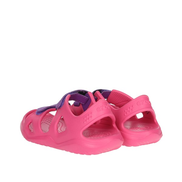 Crocs Shoes Sandal Fuchsia 204988-60O