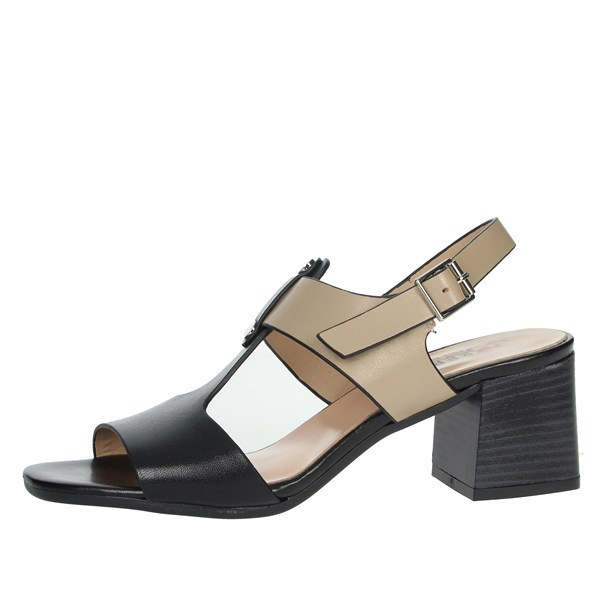 Repo Shoes Sandal Black/Brown leather 30211-E9