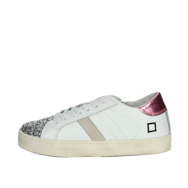 D.a.t.e. Shoes Sneakers White/Pink HILL LOW-A9