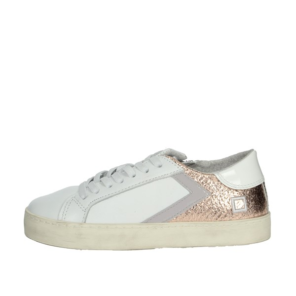 D.a.t.e. Shoes Sneakers White/Pink HILL LOW-A5