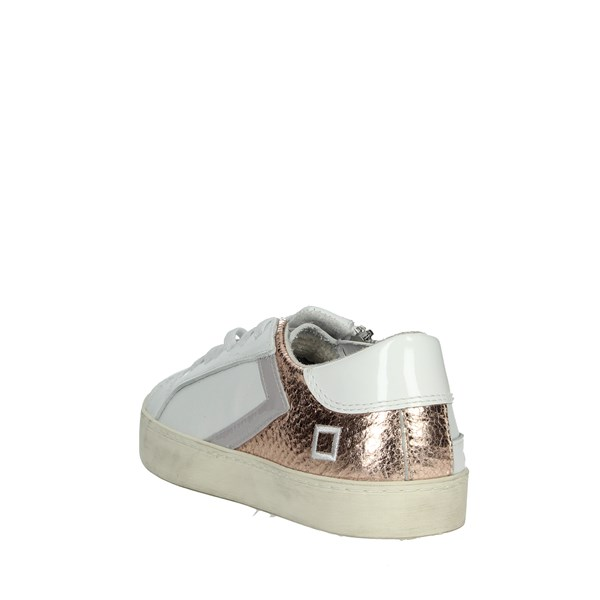 <D.a.t.e. Shoes Sneakers White/Pink HILL LOW-A5
