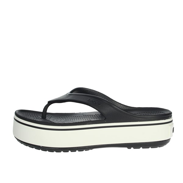 Crocs Shoes Flip Flops Black 205681-066