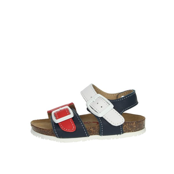 Bionatura Shoes Sandals White/Red LUCA