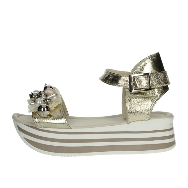 So-us Shoes Sandals Gold R-650