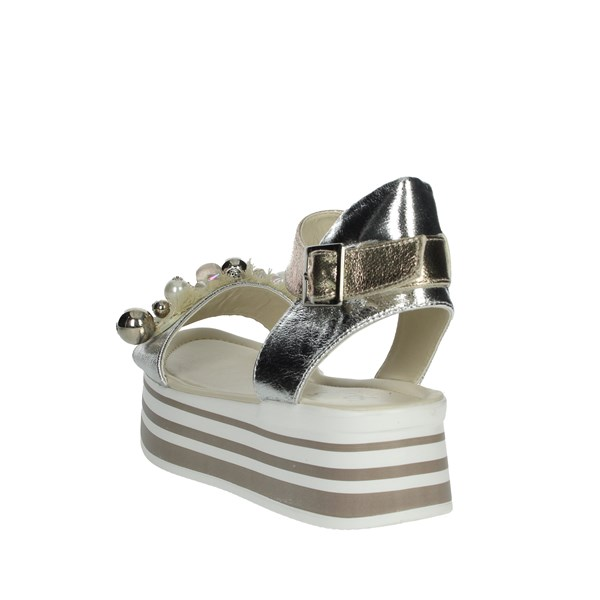 So-us Shoes Sandals Silver R-650