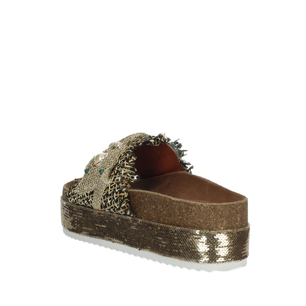 Baci & Abbracci Shoes Clogs Platinum  AC60154-61