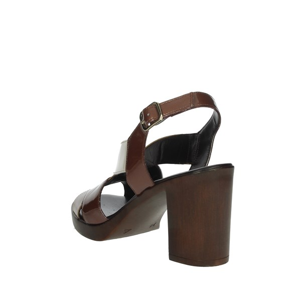 Romagnoli Shoes Sandals Brown/Beige B9E7802