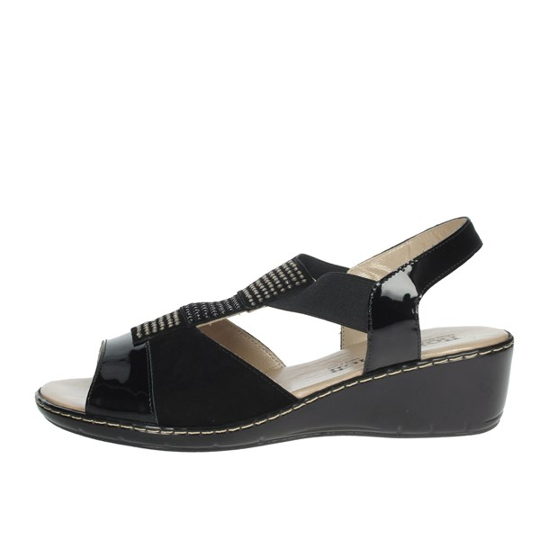 Romagnoli Shoes Sandals Black B9E7804