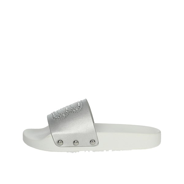 Laura Biagiotti Dolls Shoes Clogs Silver L54401