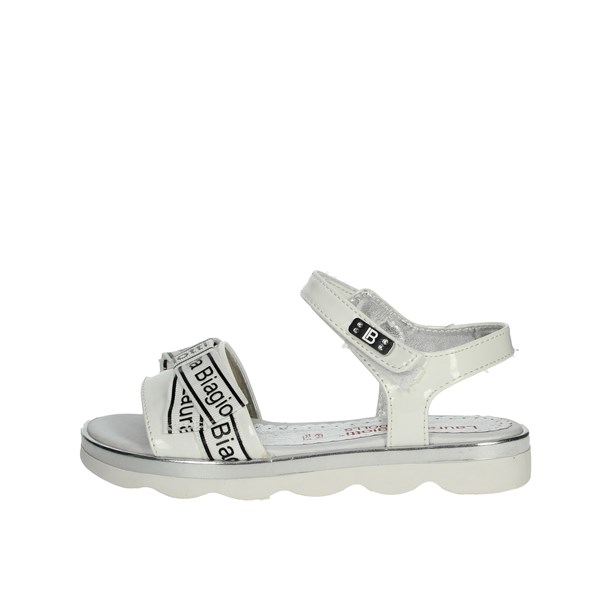Laura Biagiotti Dolls Shoes Sandals White 5410