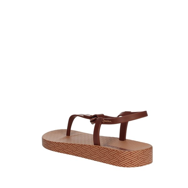 <Ipanema Shoes Flops Brown leather 82626
