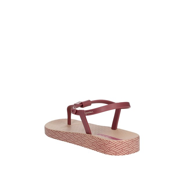 <Ipanema Shoes Flops Rose 82626