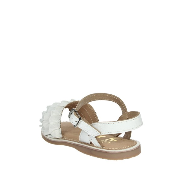 Via 51 Shoes Sandals White PICI-2