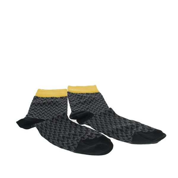 Alv By Alviero Martini Accessories Socks Grey/Yellow  ALV4052