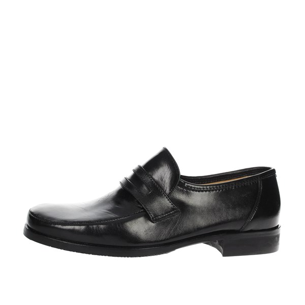 Sanagens Shoes Loafers Black 5689 006