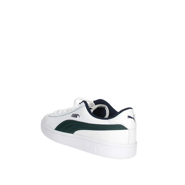 <Puma Shoes Sneakers White/Green 365170 02
