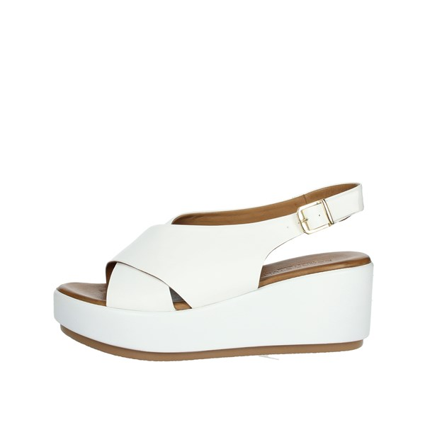 Donna Style Shoes Sandals White 19-722