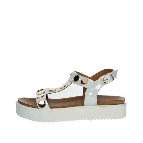Donna Style Shoes Sandals White 217-18826