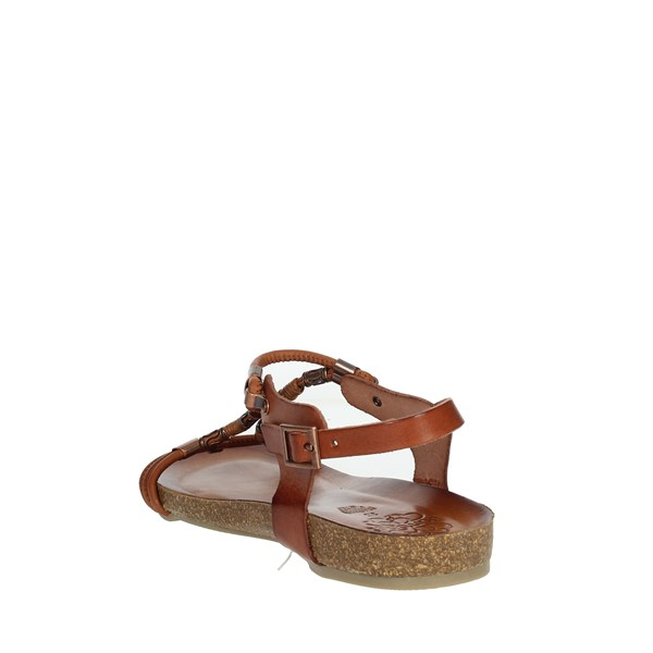 Porronet Shoes Sandals Brown leather FI2422