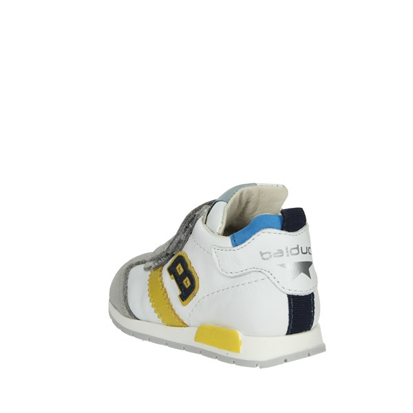 <Balducci Shoes Sneakers White/Yellow CSPORT1500