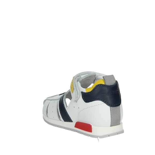 Balducci Shoes Sandals White/Yellow CSPORT3402