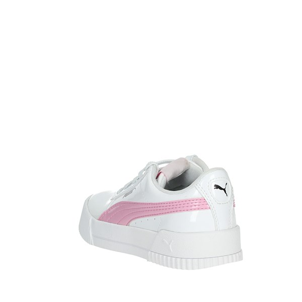 Puma Shoes Sneakers White/Pink 371209