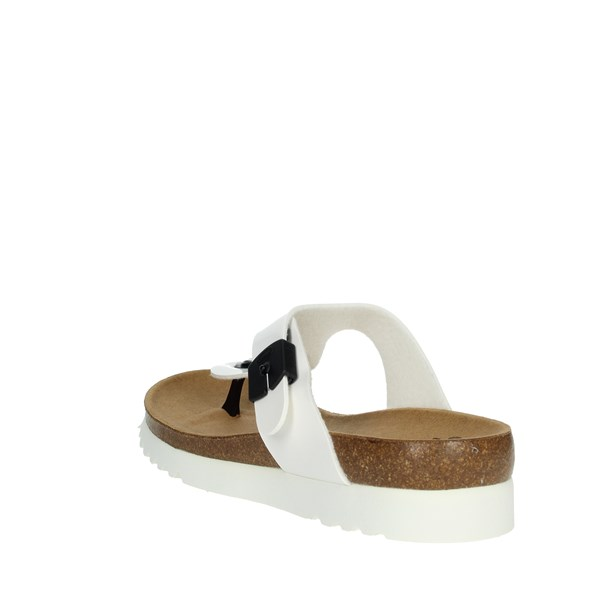 Scholl Shoes Flops White BERIC