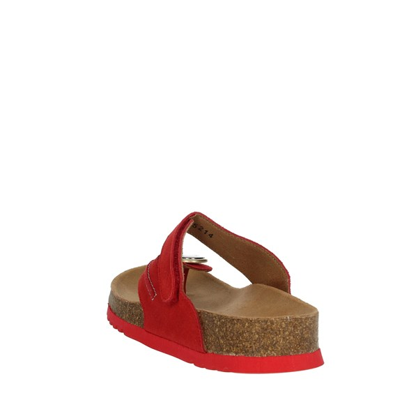 Scholl Shoes Flip Flops Red MANOLE