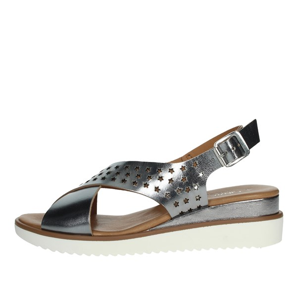 Cinzia Soft Shoes Sandals Charcoal grey PF652S