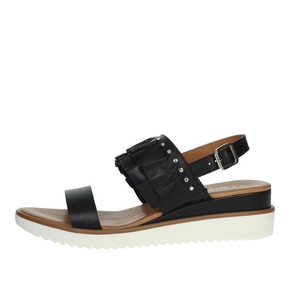 Cinzia Soft Shoes Sandals Black PF18953B-N