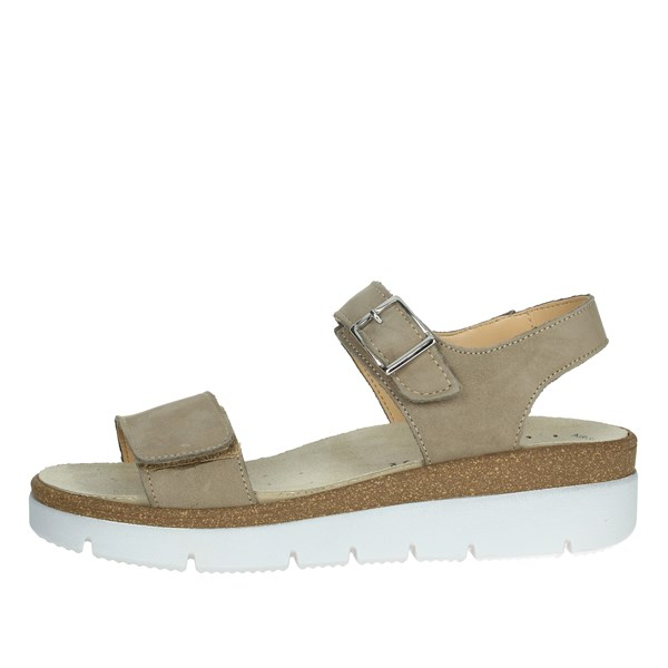Cinzia Soft Shoes Sandals Brown Taupe IO659P-N