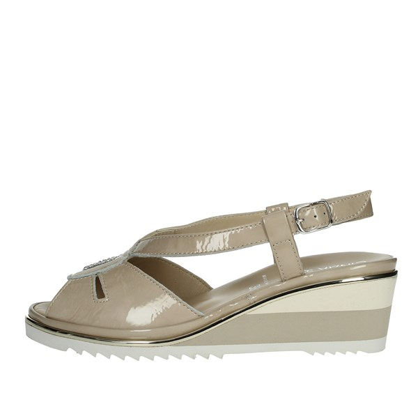 Cinzia Soft Shoes Sandals Beige IPCATERINA-N