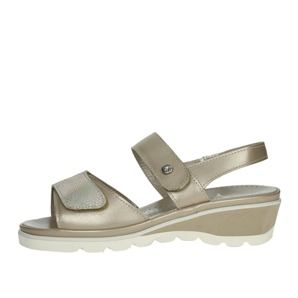 Cinzia Soft Shoes Sandals Platinum  IPNEWCON-PM