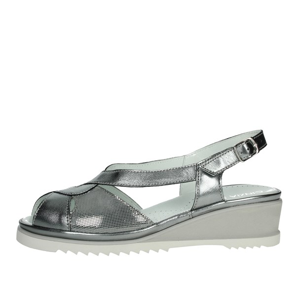 Cinzia Soft Shoes Sandals Silver IP8MARY-SN